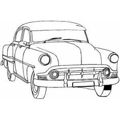car indicator lights coloring pages | 286 Best HOT ROD Cartoons images in 2019 | Car drawings ...
