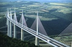 The Millau Viaduct bridge