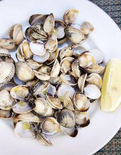Ibiza Formentera, Menorca, Fisher, Steam Recipes, Seafood, Garlic, Stuffed Mushrooms, Diet, Vegetables