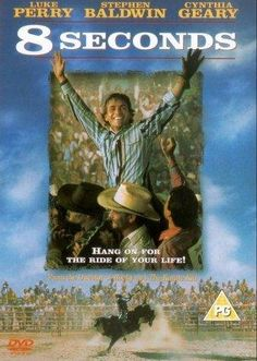 8 Seconds -- This riveting drama based on the life of Rodeo World Champion Lane Frost tells story of the Oklahoma boy's meteoric rise to fame & how his rough, tumble life is tragically cut short.