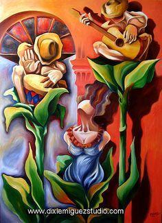 Afro Cuban Musicians and Dancers at Palenque de los Congos Reales ...