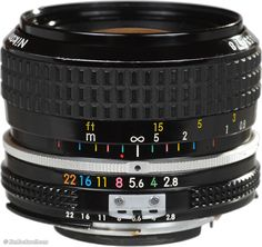 Nikon 28mm f/2.8 AI. Great lens, just not quite as legendary as the AIS version with FLE/CRC.