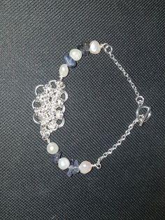 Japanese weave chain maille bracelet