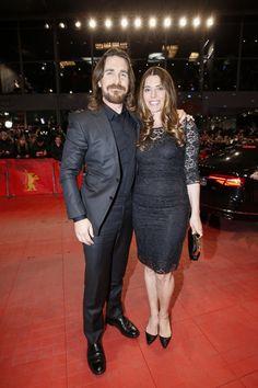 Pin for Later: Das war die 65. Berlinale - seht hier die besten Bilder! Tag 4 Christian Bale and Sibi Blazic