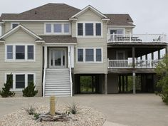 $6325 Ocean Sands, Section B Vacation Rental - VRBO 376128 - 8 BR Corolla House in NC, Oceanside Beach House, Private Pool, 400' to Beach Acce...