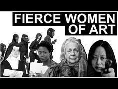 Fierce Women of Art | The Art Assignment | PBS Digital Studios - YouTube