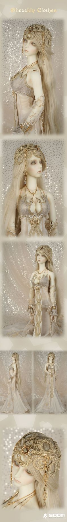Легенда о кукле... наряд для одной из своих кукол