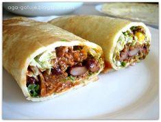 Naleśniki meksykańskie Aga, Tacos, Appetizers, Mexican, Ethnic Recipes, Food, Appetizer, Essen, Meals