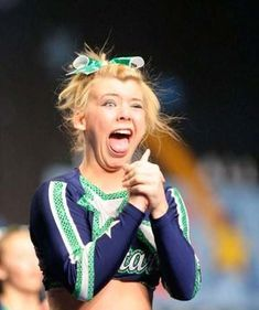 We learn in high school that cheerleaders are delicate and graceful creatures. This idea seems to last a lifetime for most people... until you see this list of 25 hilarious cheerleader fails and awkward faces.