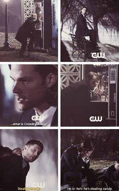 A round of applause for Crowley.
