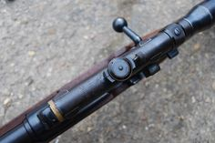 Deactivated Mauser Sniper Rifle - the infamous fitted with various scope configerations - Check this page for Deactivated Kar 98 Mauser Sniper Rifle! Military Weapons, Weapons Guns, Guns And Ammo, Airborne Ranger, K98, Closet Shoe Storage, Sniper Rifles, Military Equipment, Small House Design