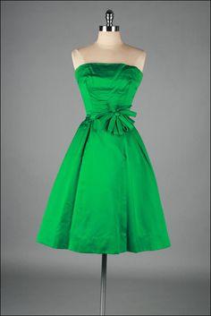 ~Vintage 1950s Dress SUZY PERETTE~