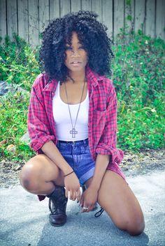 blackfashion: Entire Outfit thrifted except shoes (Charlotte Russe) Imani, 20, FLimani-n-oz.tumblr.comPhotographed by Sufia Huq Black Girls Killing It Shop BGKI NOW