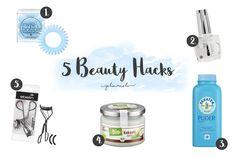 5 Beauty Hacks, die mir den Alltag erleichtern. Schaue hier, was du mit diesen Dingen anstellen kannst
