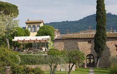 Il Falconiere, Hotel mit Spitzenkoch in der Toskana, war mal beim Food Hunter auf arte zu sehen
