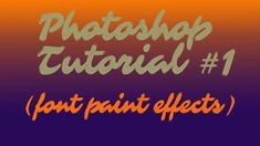 PAINT EFFECT FOR FONTS IN PHOTOSHOP Paint Effects, Photoshop Tutorial, Fine Art Prints, Fonts, Writing, Instagram, Composition, Letter, Writing Process