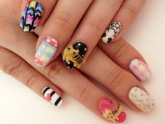 tsumori chisato nails: too cute and too much :D maybe one detail at a time