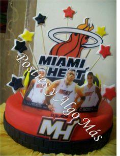Torta de Miami Heat - Miami Heat Cake