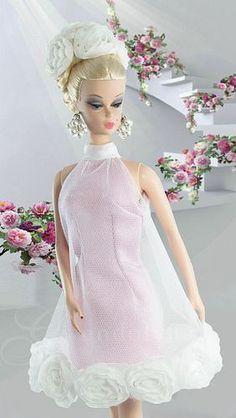 60s barbie via  In a Barbie World   Pinterest)