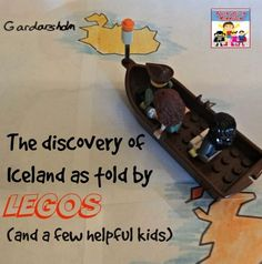 The Discovery of Iceland history lesson as told by LEGOS