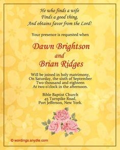 Wedding Invitation Sample Philippines Invitation Ideas Pinterest