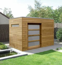 Most current No Cost contemporary garden shed Strategies Backyard garden garden storage sheds have got various uses, which include storing house mess and back garden r. Contemporary Sheds, Modern Shed, Garden Modern, Contemporary Design, Modern Backyard, Modern Design, Backyard Sheds, Outdoor Sheds, Garden Sheds