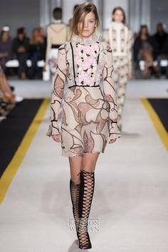 Шифоновое платье - модный хит осени фото №9
