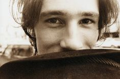 Jeff Buckley. He looks so carefree and happy here.  :D