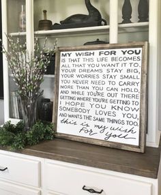 """MOTHERS DAY SALE My Wish For You Song Lyrics 28"""" x 28"""" Wood Framed Sign by WillowHillSigns on Etsy https://www.etsy.com/listing/254324614/mothers-day-sale-my-wish-for-you-song"""