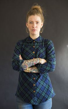 Gold Miners Daughter Blackwatch Plaid - Made in USA - $135.00