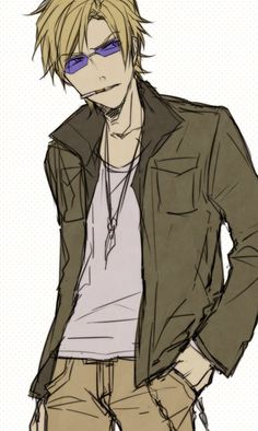 Tags: Anime, Durarara!!, Heiwajima Shizuo, PNG Conversion, Pasta69