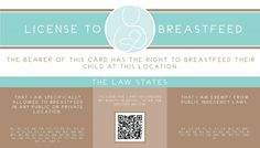License to Breastfeed 2013 » Branded Love