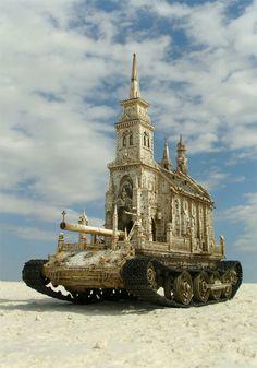 Looks like a Mutant Vehicle from Burning Man. Burning Man Art, Steampunk, Instalation Art, Grandeur Nature, Modern Surrealism, Surrealism Art, Les Religions, 3d Studio, Photo Projects