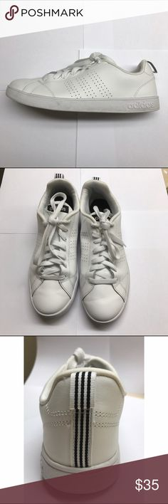 White Neo Adidas White Neo Adidas worn a handful of times. In great condition. Gently used. Great for any outfit. Very trendy. Use the offer button if you want to negotiate. Adidas Shoes Athletic Shoes