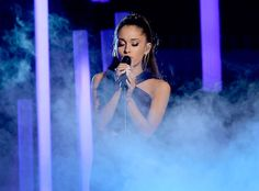 Ariana Grande Proves That Simple Goes a Long Way With Her Stripped Down Performance of ''Just a Little Bit of Your Heart'' Ariana Grande, Performance, Grammy Awards