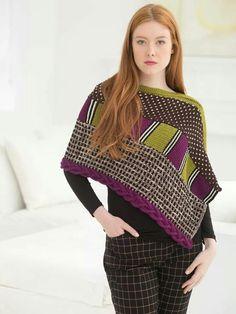 Lion brand knit pattern.  So pretty!