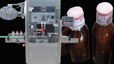 Automatic Labeling Machine with conveyor for various style bottles
