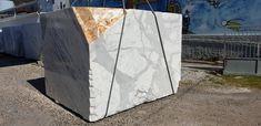 Beautiful statuario marble Block - to be cut into 2 and 3 cm thick slabs polished finish Statuario Marble, Marble Block, White Marble, Stone, Beautiful, Rock, Stones, Batu
