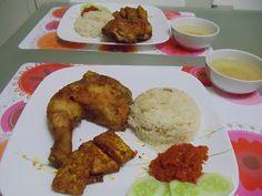 Step by Step... Nasi Ayam Penyet (sangat awesome!)