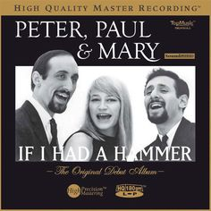 Peter, Paul And Mary - If I Had A Hammer: The Original Debut Album on Numbered Limited Edition Colored 180g Import LP