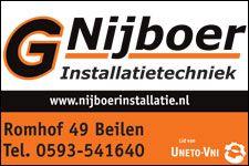Wij heten G. Nijboer Installatietechniek van harte welkom op Koopplein Midden-Drenthe.  Voor de nieuwbouw of verbouw van uw woning of bedrijfspand, maar ook voor een nieuwe badkamer, keuken, CV-ketel, alarminstallatie of energiebesparende verlichting bent u bij ze aan het juiste adres. U kunt bij ze terecht voor: Licht- en elektrotechniek en krachtinstallaties Data en telecom Beveiliging http://koopplein.nl/middendrenthe/huis-en-inrichting