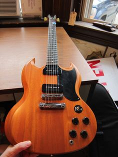 2011 Gibson SG 1960s Tribute Special Guitar Satin Finish Gibson