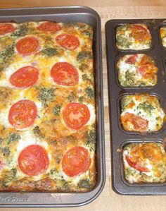 Skinny Mom's, Skinny Quiche With a Healthy Twist is the perfect on the go breakfast! Make a batch during the weekend and be able to offer your children fresh eggs in the morning even when you dont have time to cook them!