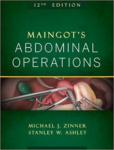 Maingot's Abdominal Operations, 12th Edition