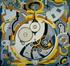 gerald murphy-  clock-