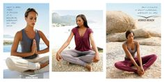 the new VENICE BEACH Yoga Wear collection has just arrived - see intimates. Beach Yoga, Yoga Wear, Venice Beach, How To Wear, Collection