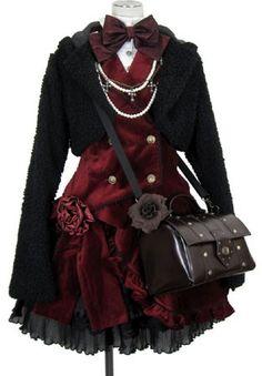 gothic lolita PUTUMAYO I really want this