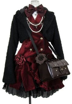 Gothic lolita - very prim and proper