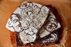 z cukrem pudrem: ciasto łaciate z masą sernikową Polish, Bread, Cake, Kuchen, Vitreous Enamel, Brot, Baking, Breads, Torte
