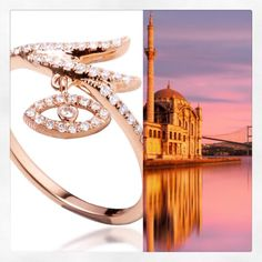 Inspired by Istanbul 🌙 Rolex Watches, Istanbul, Fine Jewelry, Inspired, Instagram Posts, Accessories, Jewelry, Jewelry Accessories